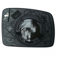 Freelander 2 [06-10] Clip In Heated Wing Mirror Glass